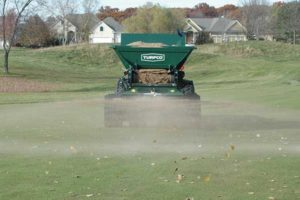 The CR-15, from Turfco, is an all-purpose machine that can save superintendents time and money. (Photo: Turfco)