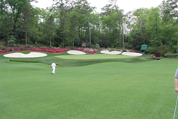 My great-grandma Jo used to watch the Masters every year just to see how beautiful the course was. Photo: Seth Jones