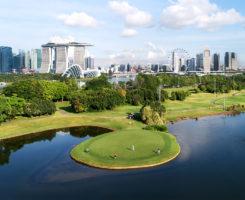 Photo: Marina Bay Golf Course