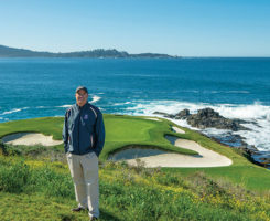 Chris Dalhamer, CGCS, is director of golf course maintenance for all four courses at Pebble Beach Resorts: Pebble Beach, Spyglass Hill, the Links at Spanish Bay and Del Monte Golf Course. (Photo: Joann Dost)