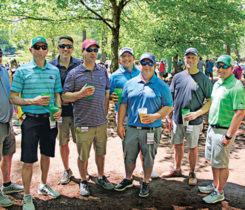 Superintendents from east cost at Augusta National (Photo: Seth Jones)