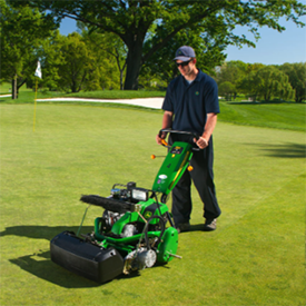 John Deere: 180 E-Cut Hybrid Walk Greens Mowers - Golfdom