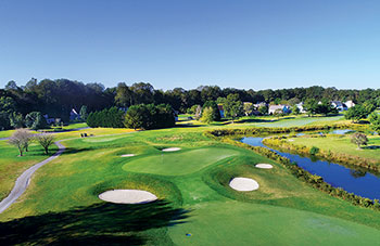 The scenic Nutters Crossing Golf Club in Salisbury, Md., where Pat Riebe is superintendent. (Photo: Pat Riebe)