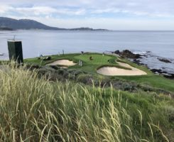 Number 7 green at Pebble Beach (Photo: Seth Jones)