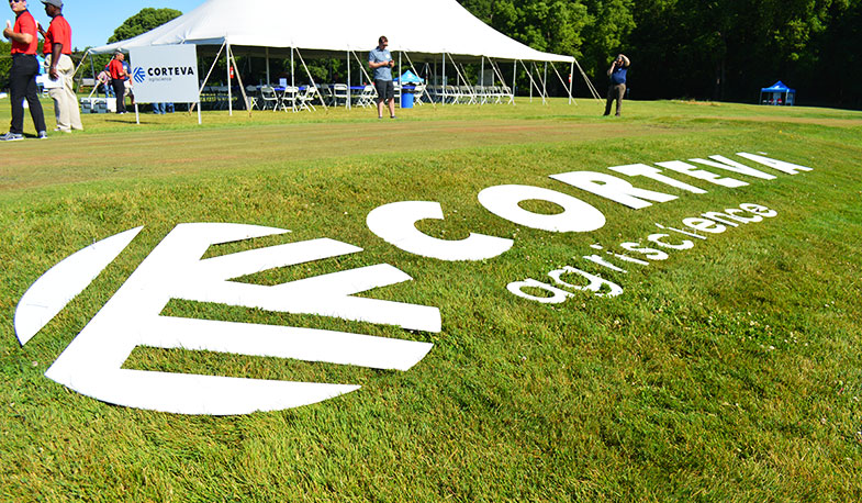 Corteva Agriscience hosted its Future of Turf 2019 Field Day June 11-12 in Columbus, Ohio, where the company discussed its new products. Photo: Golfdom Staff