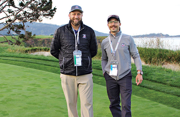 Marshall Dick and Michael Knoll (Photo: Seth Jones)
