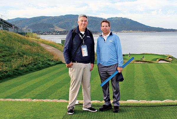 Seth Jones and Brian Whitlark (Photo: Kelly Limpert)