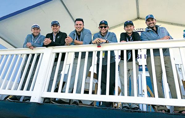Austin Daniels, Vince Ferrante, Ross Johnson, Steven Spatafore, Michael Mignacca and Steve Hoying (Photo: Seth Jones)