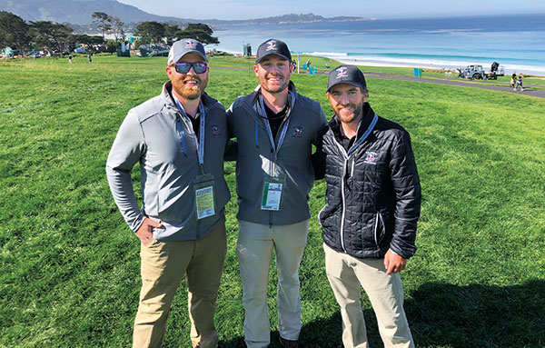 Colby Major, Seth Smith and Colton Janicek (Photo: Seth Jones)