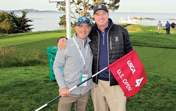 Jeff Steen and Chris Dalhamer (Photo: Seth Jones)