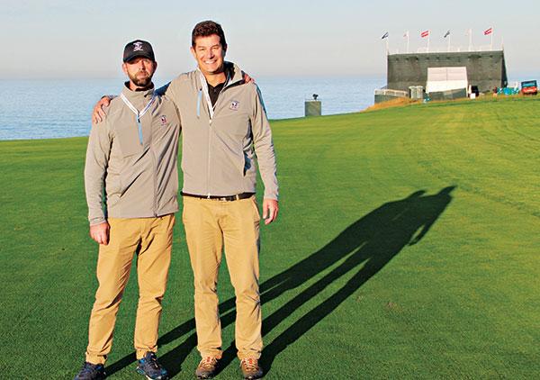 Joen Anders Petersen and Luis Pinto (Photo: Seth Jones)
