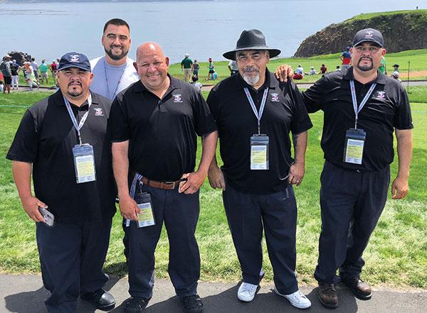 Sal Guerra, Joe Jovan, Valentin Valazquez, Hector Meijia and Juan Ruiz (Photo: Seth Jones)