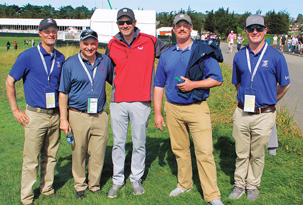 Dan Heckman, Troy Flanagan, Thom Irvin, Andrew Crawford and Jared Kief (Photo: Seth Jones)
