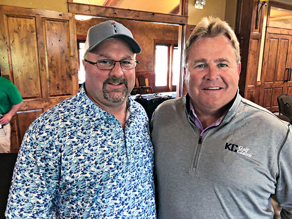 John O'Leary (left) and Woody Moriarty (Photo: Seth Jones)