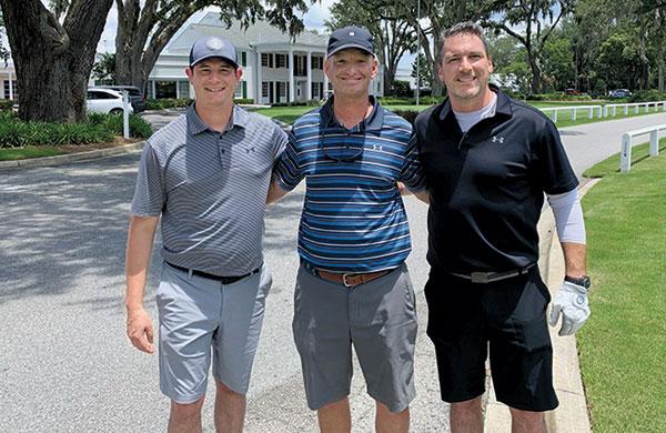 Jake Goodman, Alan Brown, Craig MacGregor (Photo: Golfdom Staff)