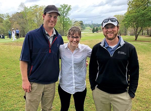 Davis Watts (left), Clara Richter, Dustin Bucher (Photo: Seth Jones)