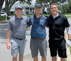 Jake Goodman, Alan Brown, Craig MacGregor (Photo: Golfdom Staff)