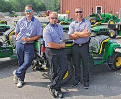 The crew at TPC Deere Run (Photo: Seth Jones)