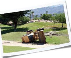 Overturned machine (Photo: iStock.com/chimmy)