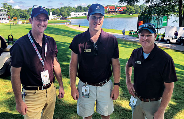 Charles Aubry, David Watts, Dustin Bucher (Photo: Seth Jones)
