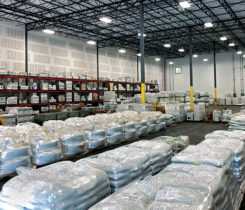 A shot inside Simplot's Birmingham, Ala., warehouse. (Photo: Simplot Turf and Horticulture)