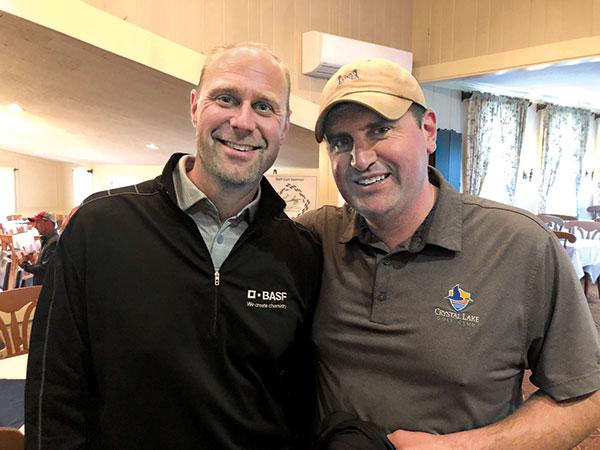 Peter Jacobsen and Ryan Green (Photo: Seth Jones)