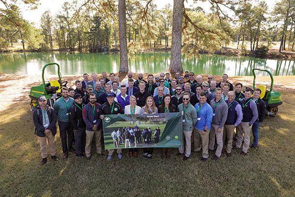 The 2019 class of Green Start Academy attendees. (Photo: John Deere)