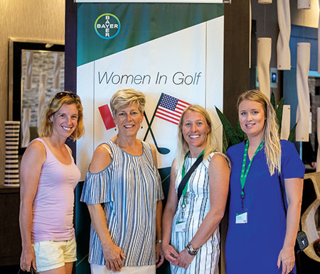 Women in Golf attendees (Photo: Bayer)