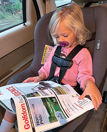 Golfdom reader's daughter (Photo: Paul Culclasure)