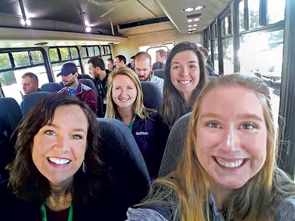 Green Start Academy attendees (Photo: Elizabeth Holmes)