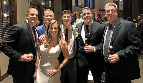 Golfdom team at Jake Goodman's wedding (Photo: Golfdom Staff)