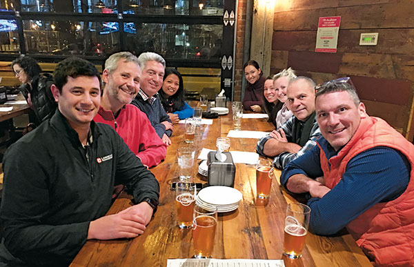 Golfdom edit and sales teams (Photo: Pete Seltzer)