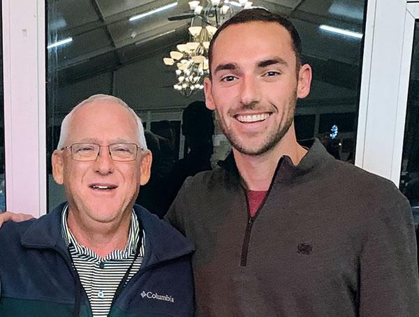 Steve Merkel and Tyler Geissler (Photo: Golfdom Staff)