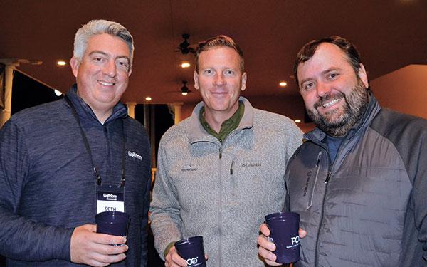 Seth Jones, Garrett Luck, Davis (Photo: Golfdom Staff)