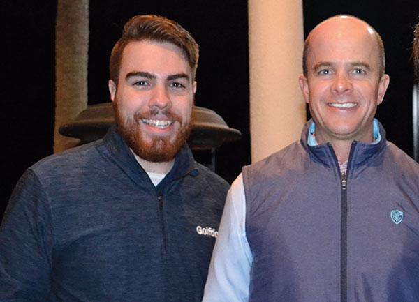 Tyler Gunter, Michael Heustis (Photo: Golfdom Staff)