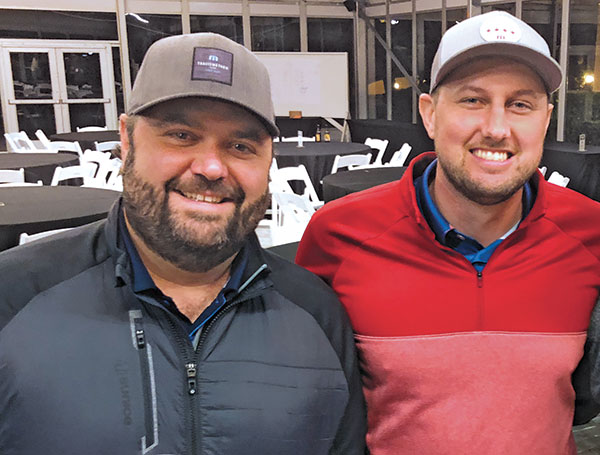 Tim David and Nate Bolhous (Photo: Golfdom Staff)