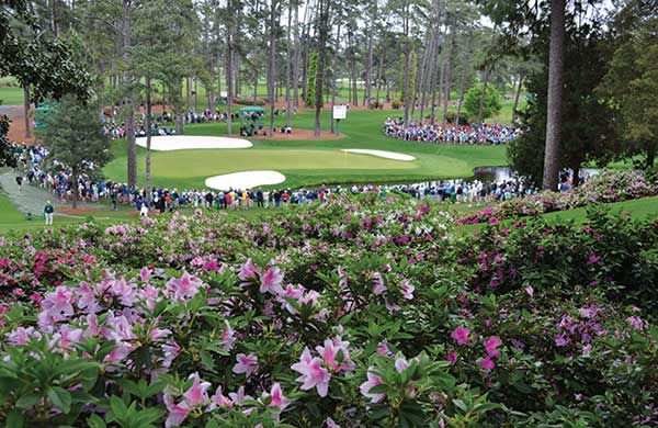 Shot of Augusta National during Masters (Photo: Golfdom Staff)