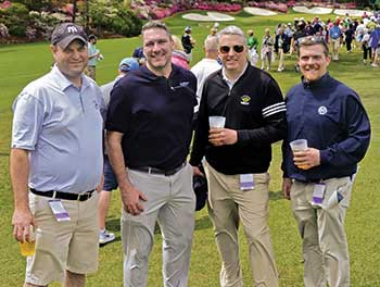Turf pros at The Masters (Photo: Golfdom Staff)