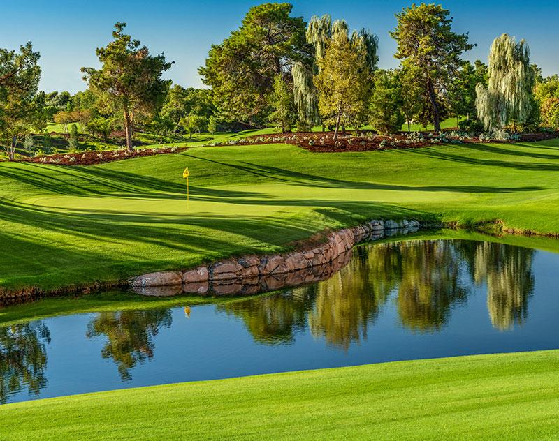 Photo: Brian Oar courtesy of Wynn Golf Club