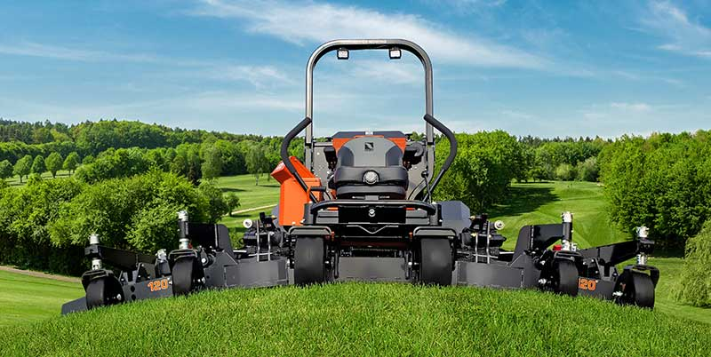 Lastec's new WZ1000 zero turn mower can cover up to 8.73 acres an hour, according to the company. (Photo: Lastec)