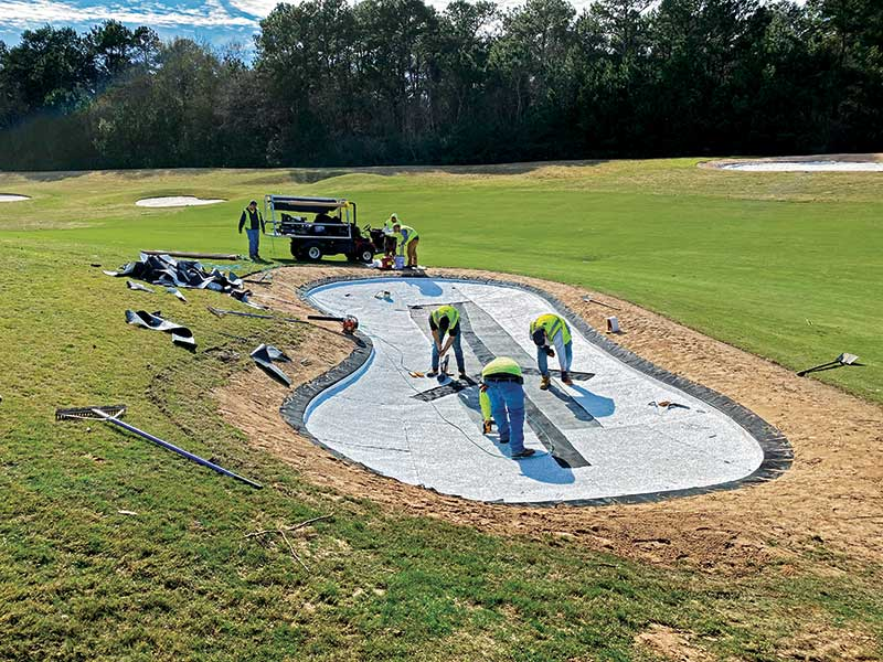 ZLine was installed at Tour 18 Golf Course in Humble, Texas, another CBONS-owned course. (Photo: Reid Scholes)