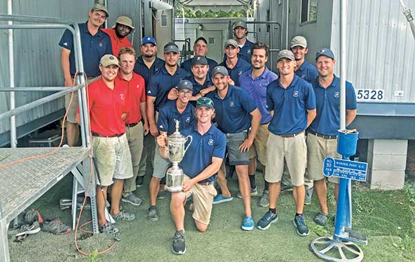 Winged Foot crew (Photo: Winged Foot GC)