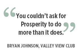 Bryan Johnson, Valley View Club Quote
