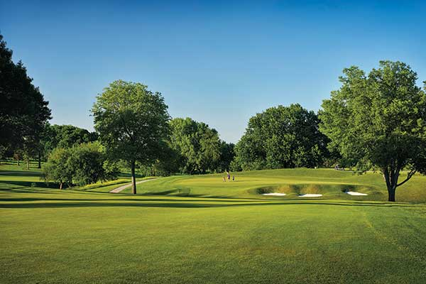 Des Moines G&CC has seen about 10,000 rounds of golf through early May 2020, more than double what's typical. (Photo: Gary Keller, Dimpled Rock)