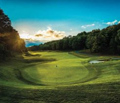 This photo was taken behind No. 10 on the Premier course. (Photo: Treetops Resort)