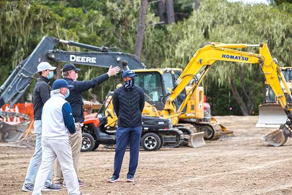 Tiger Woods Short Course walk-through (Photo: Sherman Chu)