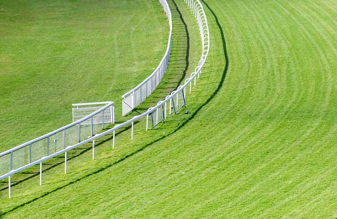 Horse-racing track (Photo: ilbusca / iStock / Getty Images)