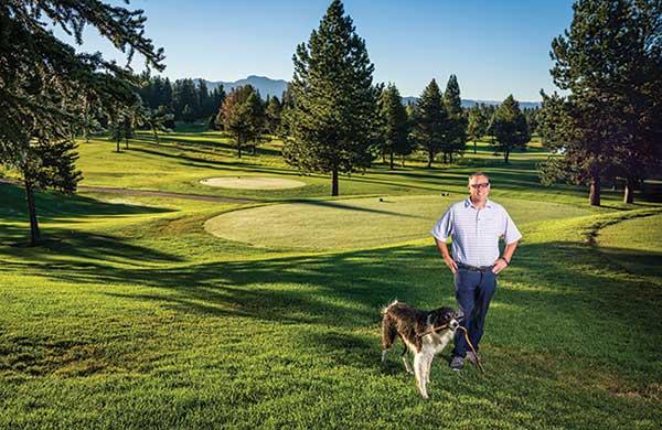 Rick Mooney and his dog Wilson (Photo: Melissa Shelby)