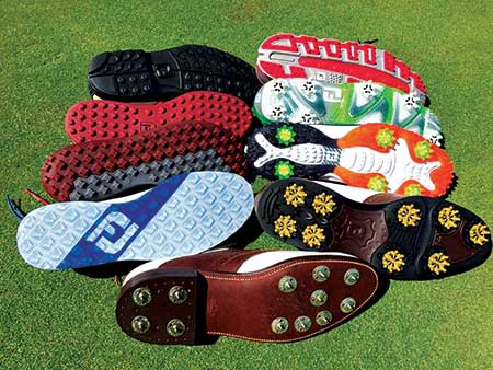 Golf shoes (Photo: Cole Thompson, Ph.D.)
