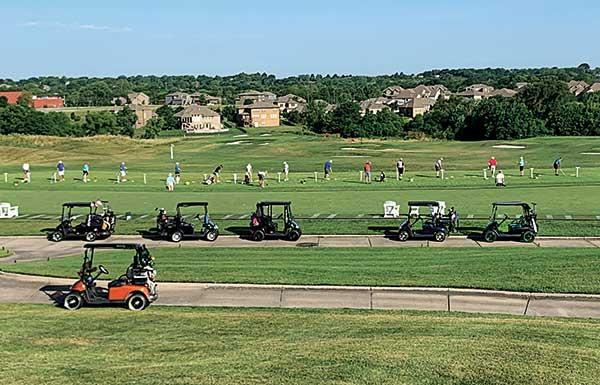 Driving range at Creekmoor GC (Photo: Creekmoor GC)